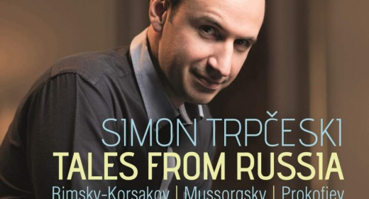 Tales from Russia, the new album by Simon Trpceski