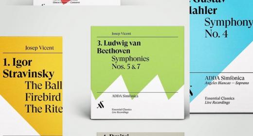 ADDA Simfònica y Josep Vicent lanzan la colección ESSENTIAL CLASSICS con grabaciones de Stravinsky, Mahler, Beethoven, Shostakovich y Falla