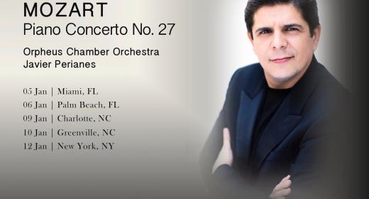 Gira por los Estados Unidos con la Orpheus Chamber Orchestra