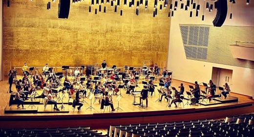 ADDA Simfònica y Josep Vicent hacen historia celebrando mañana el primer concierto sinfónico con público presencial de toda España