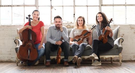Exitosa grabación en vivo de la integral de cuartetos de Beethoven por el Elias String Quartet