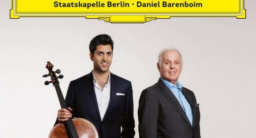 Kian Soltani y  Daniel Barenboim graban juntos el 'Concierto para violonchelo' de Dvořák