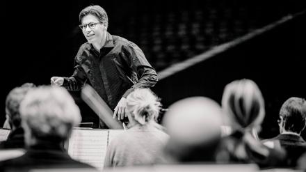 Imagen de Philharmonia Orchestra, Klaus Mäkelä y Javier Perianes
